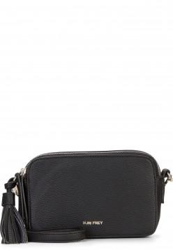 SURI FREY Handtasche mit Reißverschluss Patsy klein Schwarz 12270100 black 100
