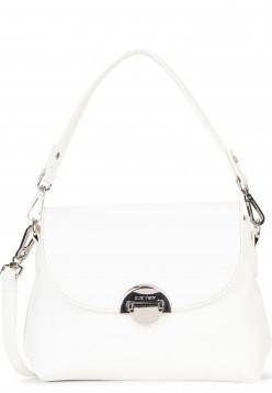 SURI FREY Handtasche mit Überschlag Naency mittel Weiß 12312300 white 300