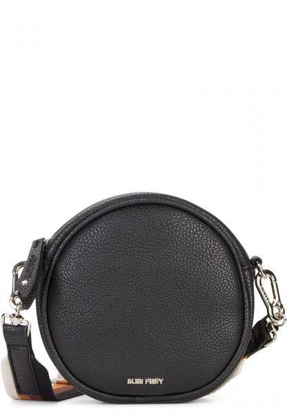 SURI FREY Handtasche mit Reißverschluss Bessy klein Schwarz 12380100 black 100