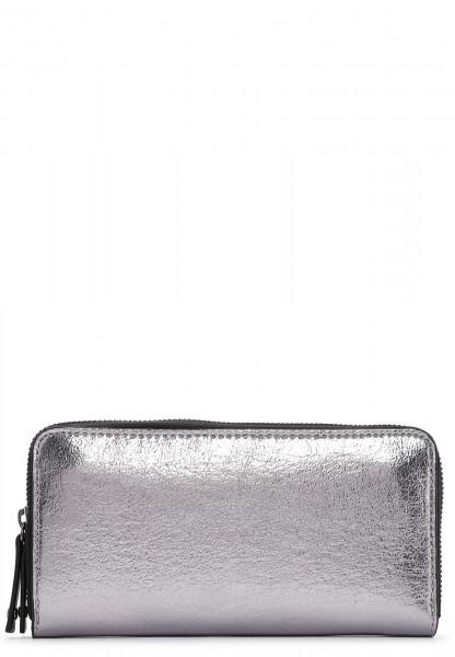 SURI FREY Langbörse SURI Black Label Wendy  Silber 16072830 silver 830