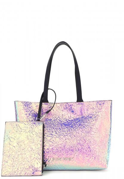 SURI FREY Shopper SURI Black Label Tiffany mittel Silber 16061830 silver 830