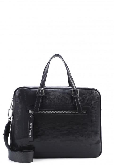SURI FREY Businesstasche Hanny groß Grau 12543800 grey 800