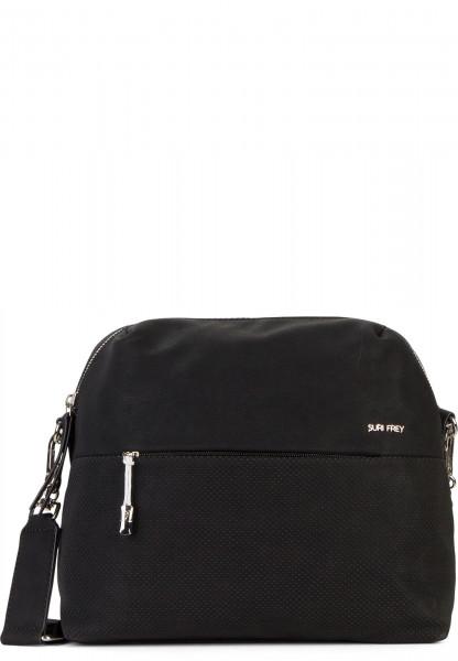 SURI FREY Handtasche mit Reißverschluss Romy Bevvy mittel Schwarz 12172100 black 100