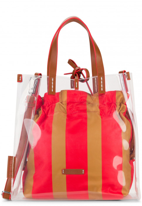 SURI FREY Shopper SURI Black Label Gracy mittel Rot 16030600 red 600