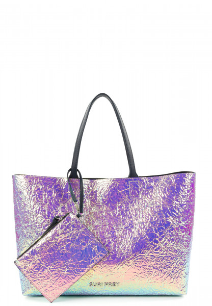 SURI FREY Shopper SURI Black Label Tiffany groß Silber 16062830 silver 830