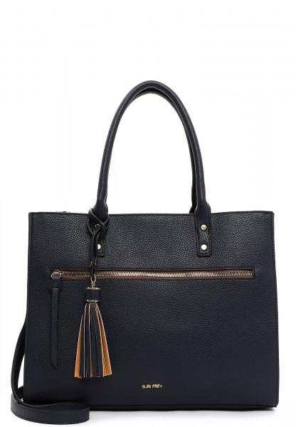 SURI FREY Shopper Netty groß Blau 12693500 blue 500