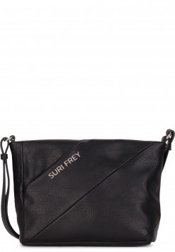 SURI FREY Handtasche mit Reißverschluss Mimmy klein Schwarz 12210100 black 100
