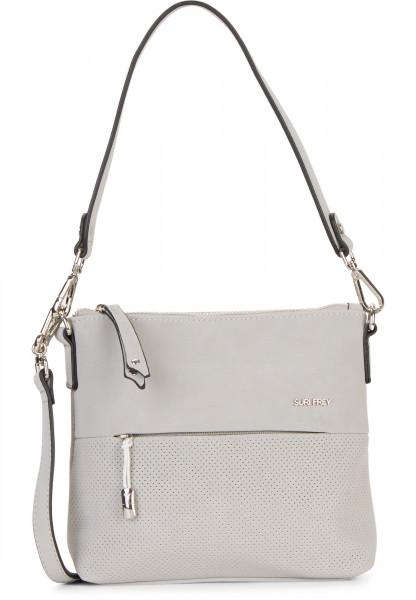 SURI FREY Handtasche mit Reißverschluss Romy Bevvy klein Grau 12170810 lightgrey 810