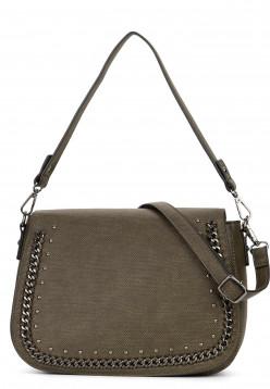 SURI FREY Handtasche mit Überschlag Dory Grün 12024930 darkgreen 930