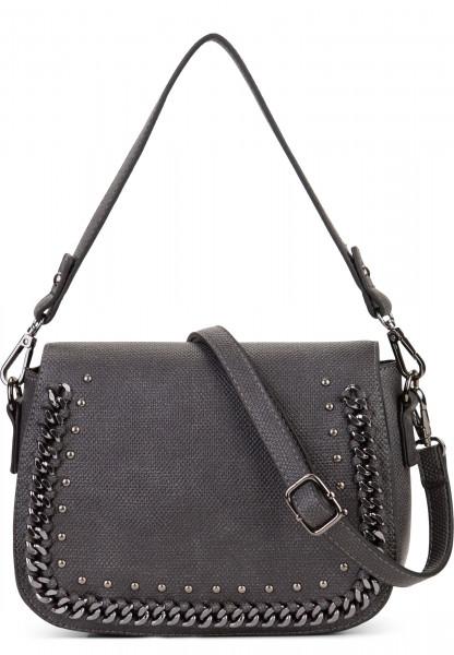 SURI FREY Handtasche mit Überschlag Dory Grau 12023800 grey 800