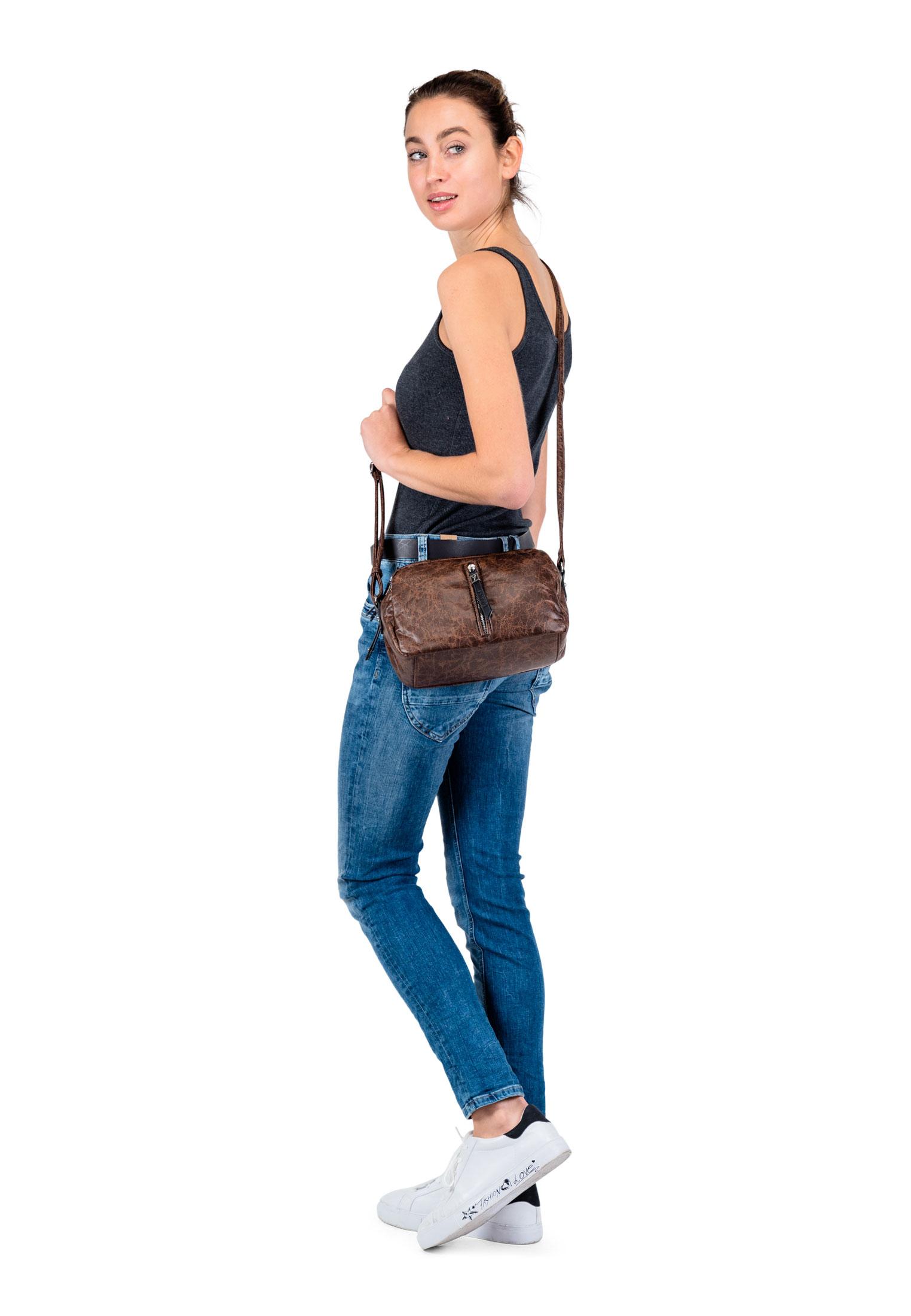 Handtasche mit Reißverschluss Dolly No.1 Special Edition