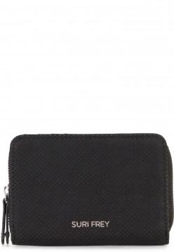 SURI FREY Geldbörse mit Reißverschluss Romy Hetty Schwarz 12192100 black 100