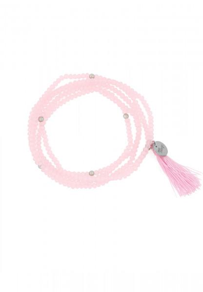 SURI FREY Wickelarmband Glory Rosegold AB10918 rosa