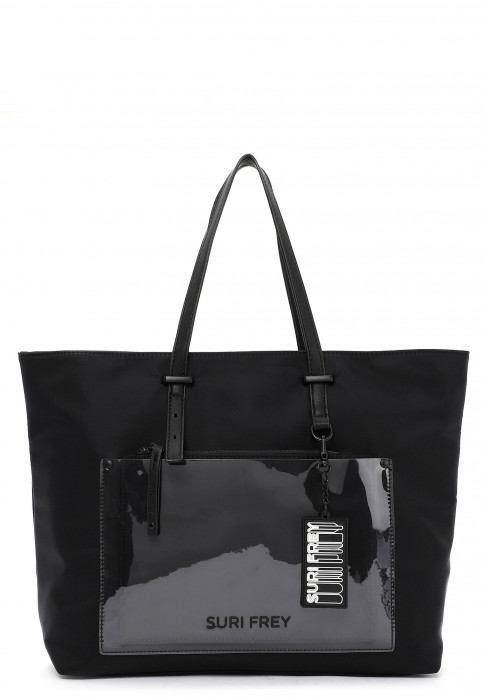 SURI FREY Shopper SURI Black Label Tessy groß Schwarz 16052100 black 100