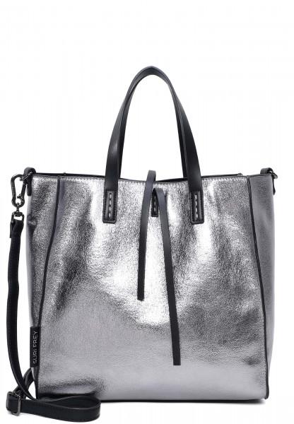 SURI FREY Shopper SURI Black Label Wendy groß Silber 16071830 silver 830