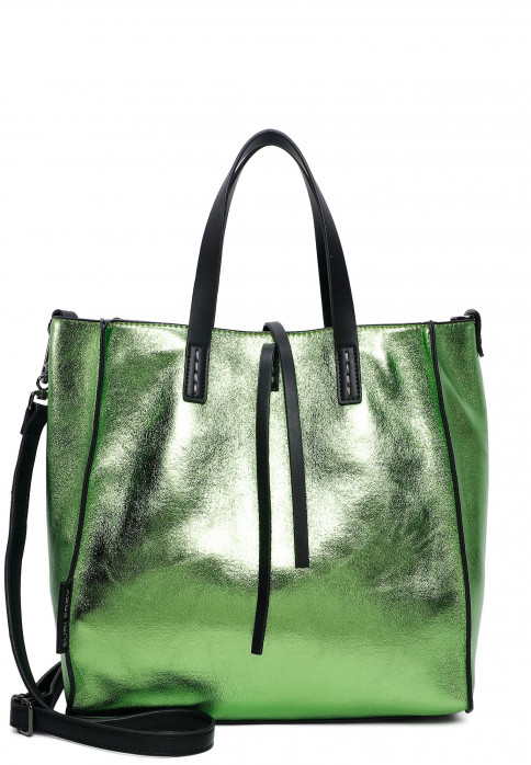 SURI FREY Shopper SURI Black Label Wendy groß Grün 16071930 green 930