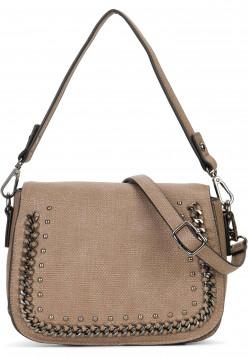 SURI FREY Handtasche mit Überschlag Dory Braun 12023900 taupe 900