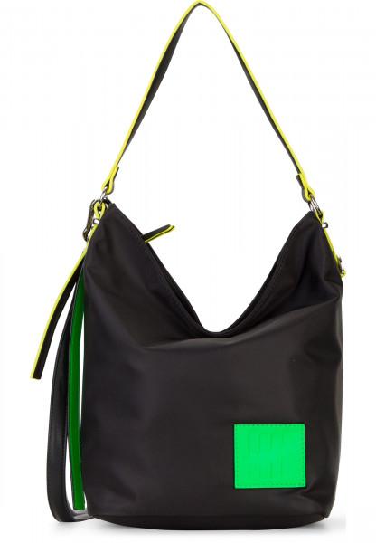 SURI FREY Beutel SURI Black Label FIVE klein Schwarz 16001196 black/green 196