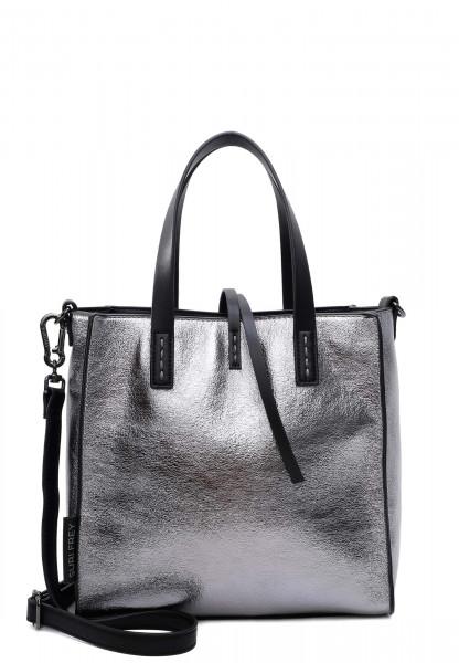 SURI FREY Shopper SURI Black Label Wendy mittel Silber 16070830 silver 830
