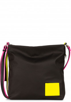 SURI FREY Umhängetasche SURI Black Label FIVE Schwarz 16000141 black/yellow 141