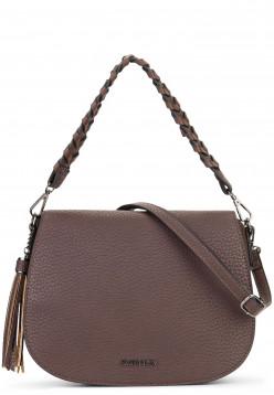 Handtasche mit Überschlag quer Piggy
