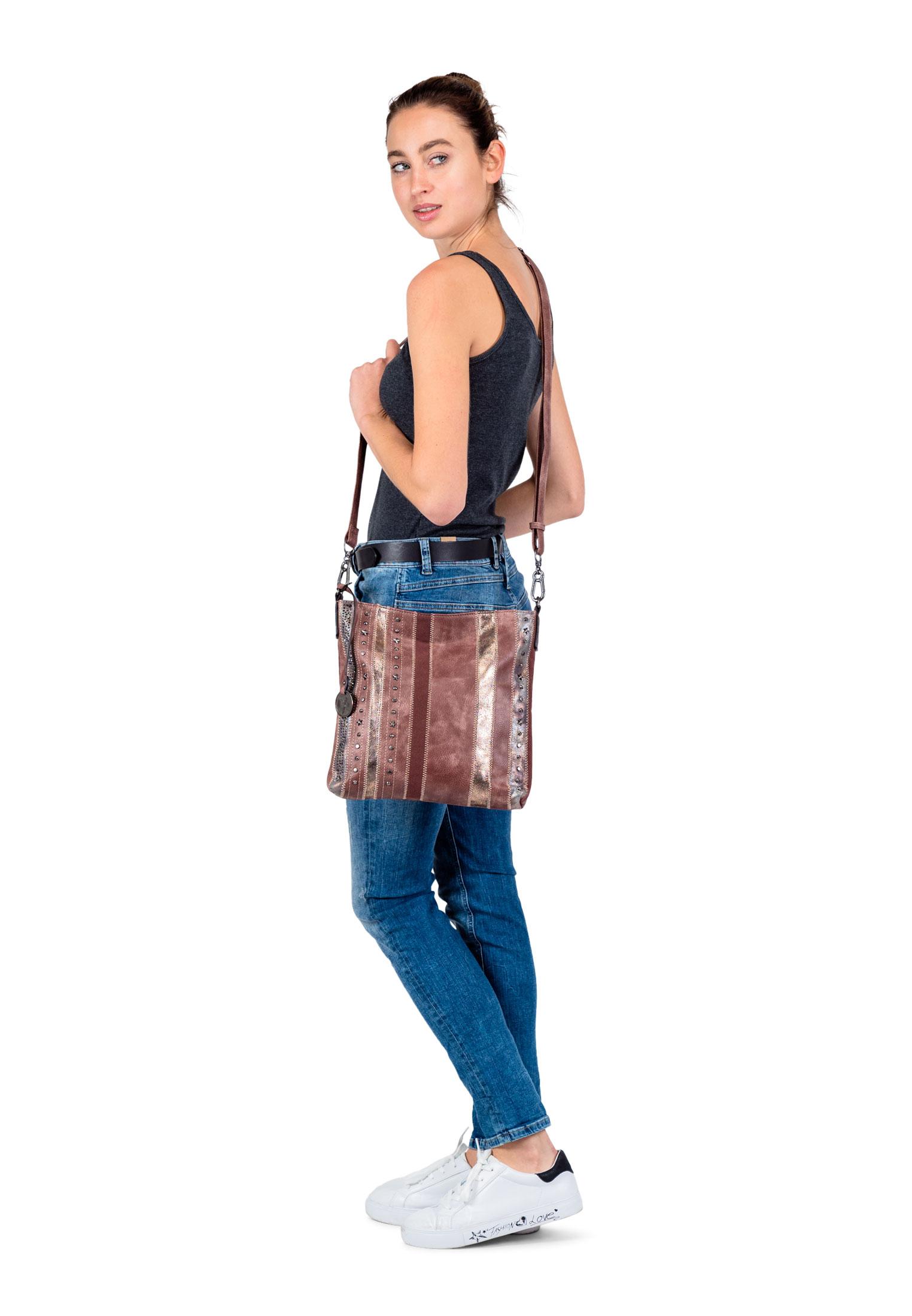 Handtasche mit Reißverschluss Star Special Edition