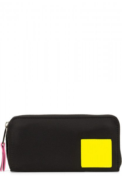 SURI FREY Langbörse SURI Black Label FIVE Schwarz 16006141 black/yellow 141