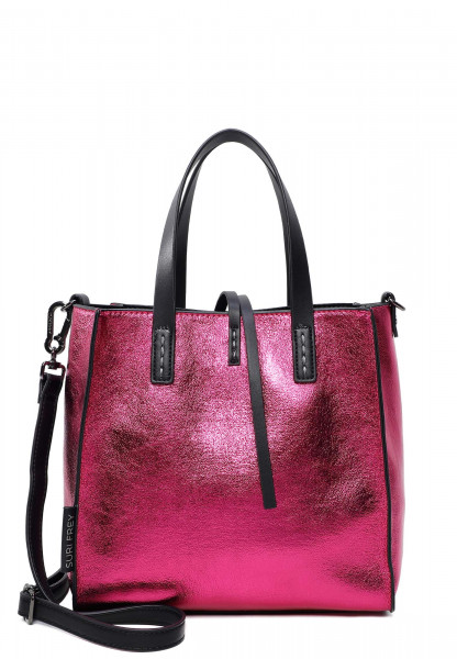 SURI FREY Shopper SURI Black Label Wendy mittel Pink 16070670 pink 670