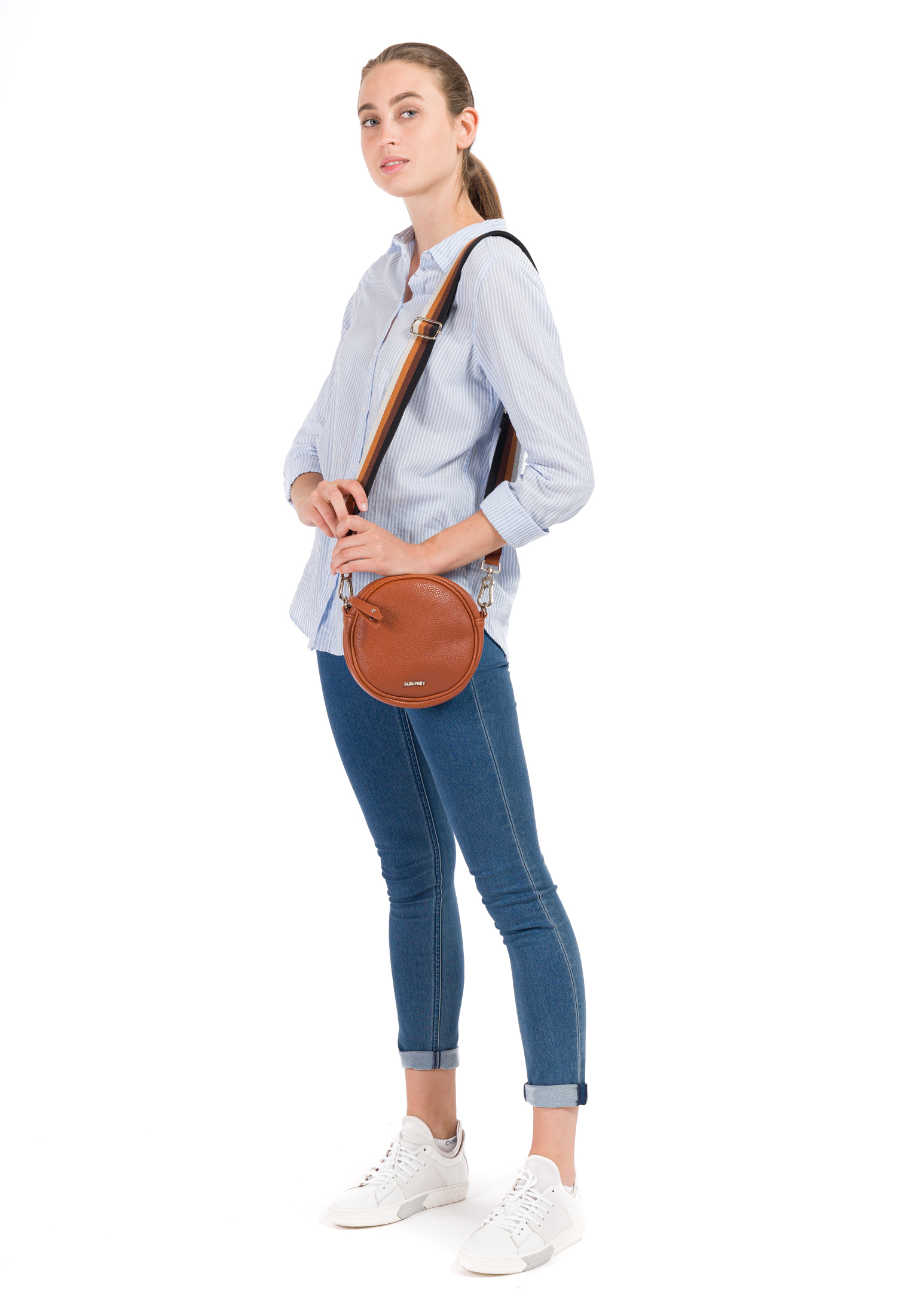 Handtasche mit Reißverschluss Bessy klein