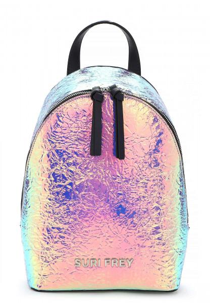 SURI FREY Rucksack SURI Black Label Tiffany mittel Silber 16063830 silver 830