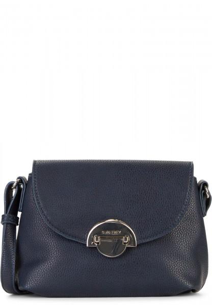 SURI FREY Handtasche mit Überschlag Naency klein Blau 12311500 blue 500