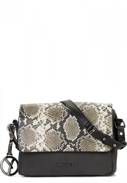 SURI FREY Handtasche mit Überschlag Claudy Schwarz 12083100 black 100