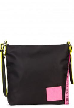 SURI FREY Umhängetasche SURI Black Label FIVE Schwarz 16000167 black/pink 167