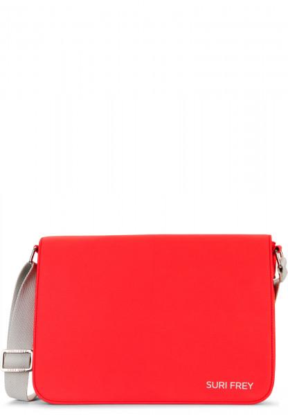 SURI FREY Handtasche mit Überschlag SURI Sports Jessy mittel Rot 18001600 red 600