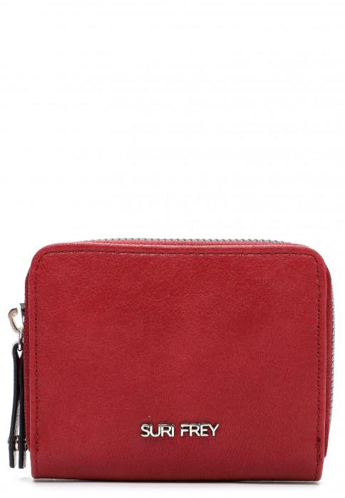 SURI FREY Geldbörse mit Reißverschluss Luzy  Rot 12648600 red 600
