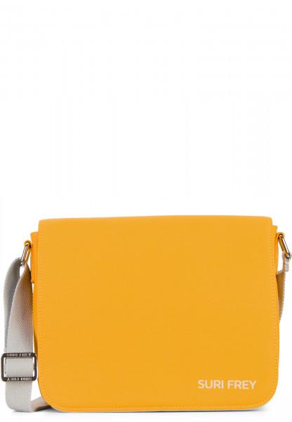 SURI FREY Handtasche mit Überschlag SURI Sports Jessy klein Gelb 18000460 yellow 460