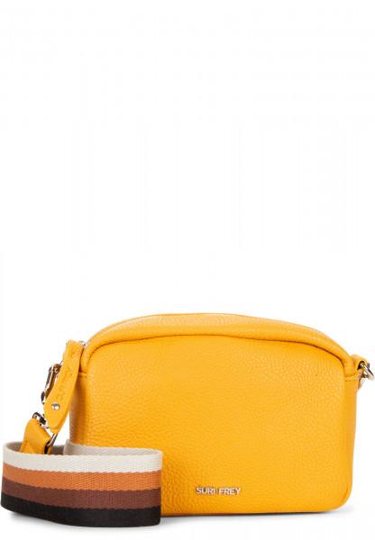 SURI FREY Handtasche mit Reißverschluss Bessy klein Gelb 12381460 yellow 460