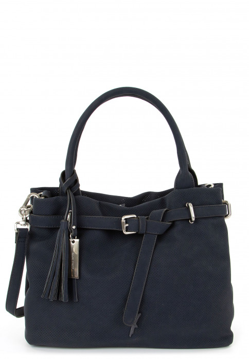 SURI FREY Shopper Romy Basic mittel Blau 12404500 blue 500