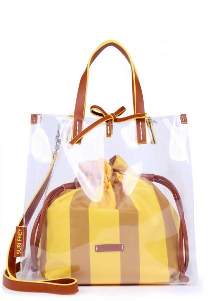 SURI FREY Shopper SURI Black Label Gracy mittel Gelb 16030460 yellow 460