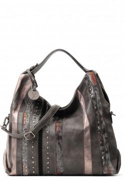 Handtasche mit Reißverschluss Star No.3 Special Edition