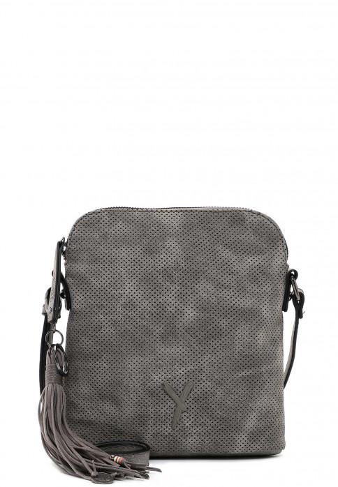 SURI FREY Handtasche mit Reißverschluss Romy mittel Grau 11580840 darkgrey 840