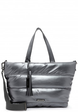 SURI FREY Shopper SURI Black Label Shelley groß Silber 16043833 darksilver 833