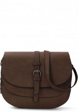Handtasche mit Überschlag Nathaly quer