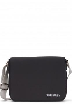 SURI FREY Handtasche mit Überschlag SURI Sports Jessy klein Schwarz 18000100 black 100