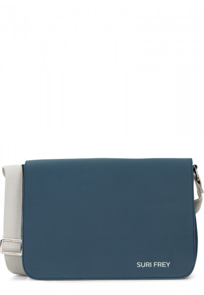 SURI FREY Handtasche mit Überschlag SURI Sports Jessy mittel Blau 18001500 blue 500