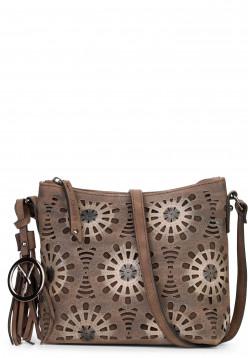 Handtasche mit Reißverschluss Lory