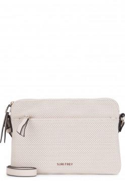 SURI FREY Handtasche mit Reißverschluss Romy Hetty Grau 12181320 ecru 320