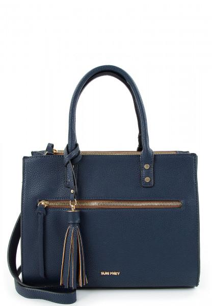 SURI FREY Shopper Netty mittel Blau 12692500 blue 500