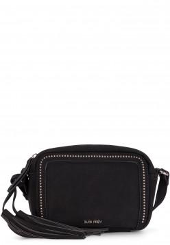 SURI FREY Handtasche mit Reißverschluss Romy Lony klein Schwarz 12200100 black 100