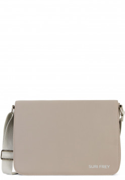 SURI FREY Handtasche mit Überschlag SURI Sports Jessy mittel Braun 18001900 taupe 900